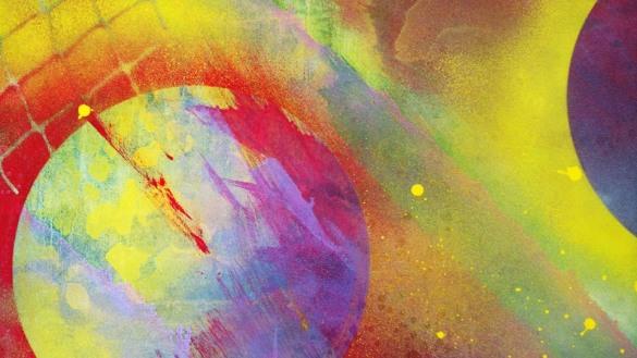 Détail de « Sans titre », techniques mixtes, ©DPlamondon, 2015, sur www.facebook.com/DavidPlamondonArtiste