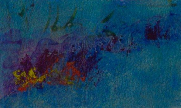 « Profondeur des temps », Acrylique et vernis sur papier d'Arches, ©Carole-Yvonne, 2008, en vente sur http://culturat.org/boutique/items/profondeur-des-temps.